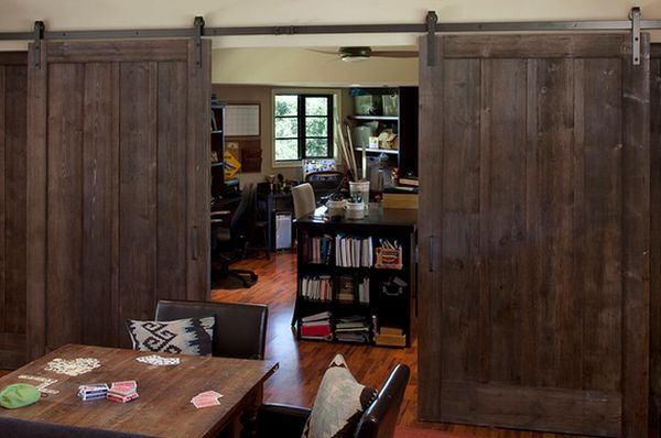Using Barn Doors As A Statement In Interior Design