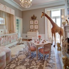 Bring Up Baby In Style From Day One - 30 Lovely Girl Nursery Room ...