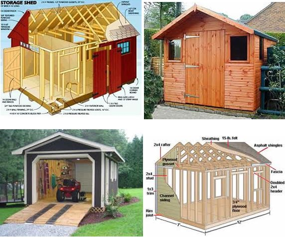 How to build a storage shed from scratch for Shed construction