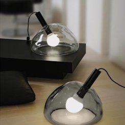 Simple Murano Glass Table Lamp