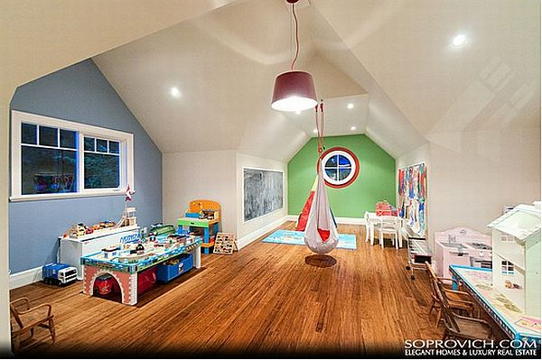 bungalow attic bedroom ideas - Top 7 beautiful playroom design ideas