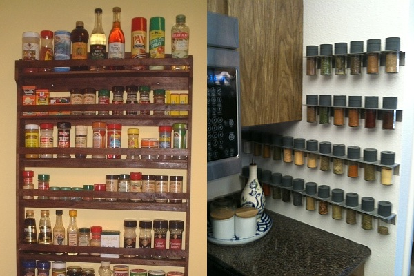 Commercial Kitchen Spice Rack