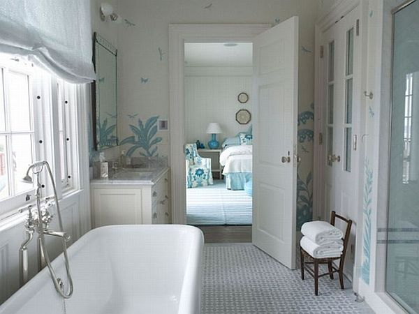 13 beautiful bathroom design ideas for Beautiful toilet designs
