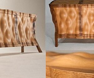 Unique sideboard design by Edward Johnson