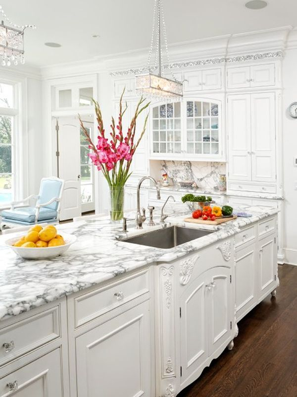Minimalist Trends U2013 White Kitchen Cabinets For A Chic And ...