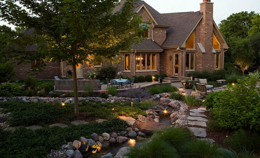flower bed lighting. home decorating trends u2013 homedit flower bed lighting s