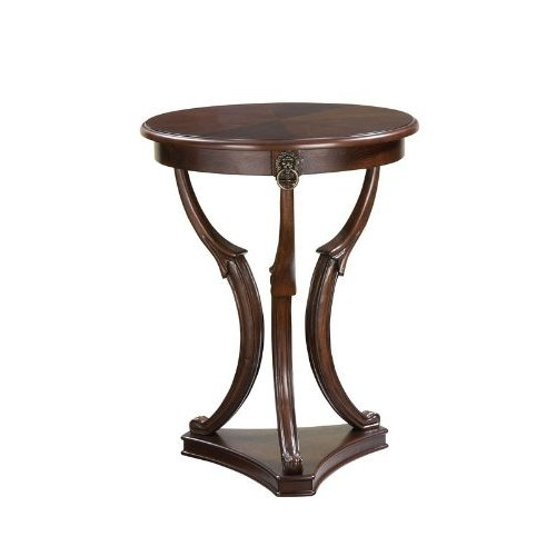 Powell Brown Cherry 3 Legged Accent Table