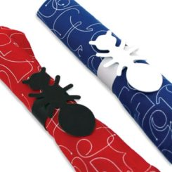 Great Ant Napkin Rings Set