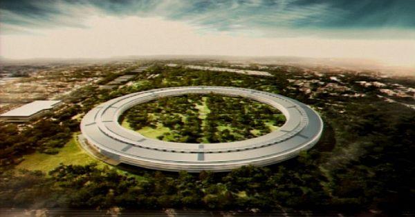 The New Apple Campus In Copertino California