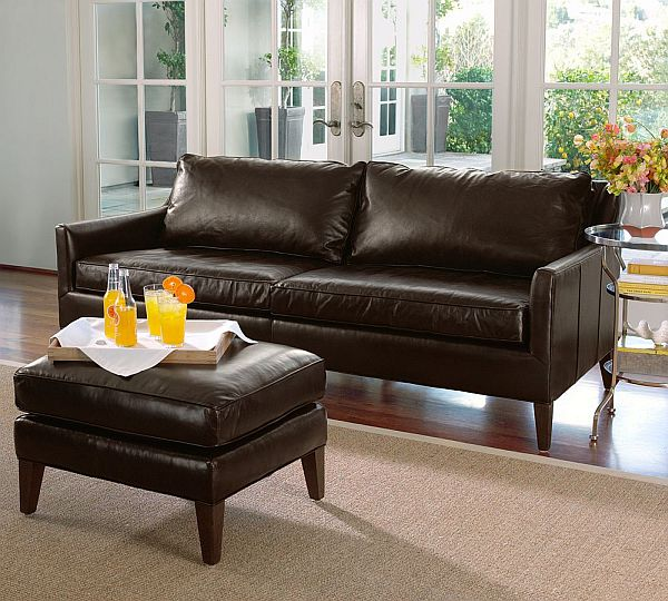 Attrayant Arlington Leather Sofa. View In Gallery