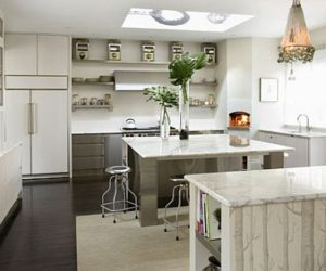 Classic White Interior Kitchen Design