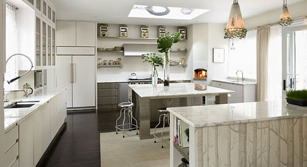 classic white interior kitchen designview in gallery