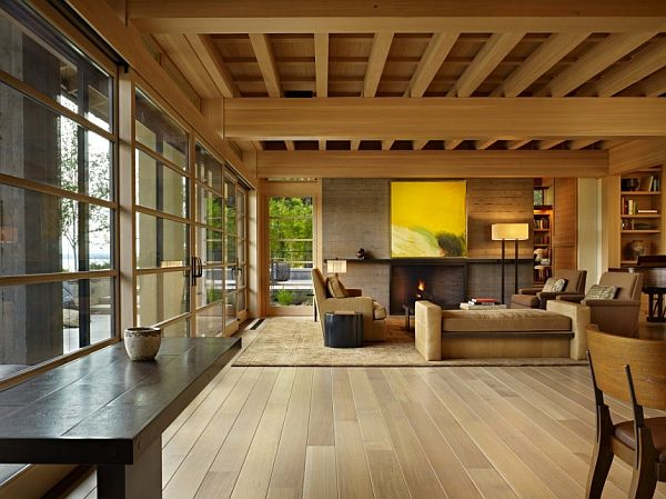 Comfortable Engawa House By Sullivan Conard Architects on Japanese Engawa House Lake