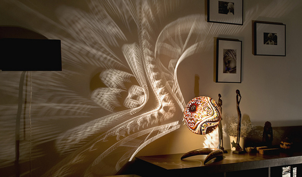 Exotic Gourd Lamps