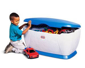 Fun And Practical Toy Chest For Kids Photo Gallery