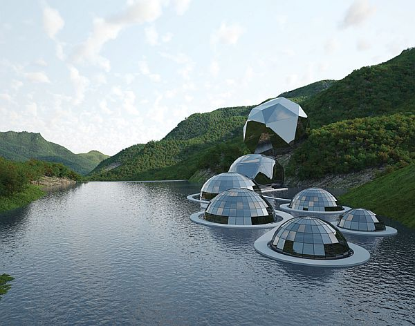 Futuristic Eco City By Eriksson Architects