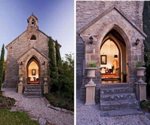 Church Converted Into a Modern House