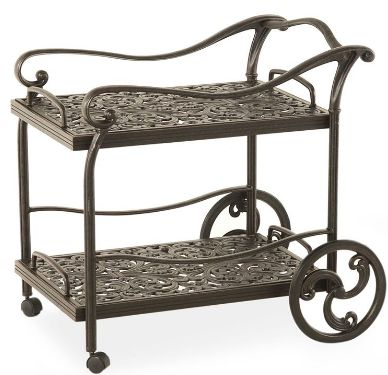 Wonderful Montclair Serving Cart For Outdoor Use