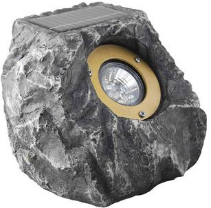 View In Gallery It S A Solar Light Shaped Like Rock