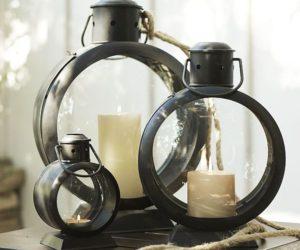 Simple And Functional Metal Lanterns