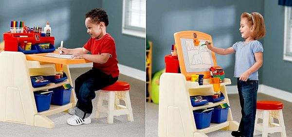 Admirable Doodle Art Desk For Kids Bralicious Painted Fabric Chair Ideas Braliciousco