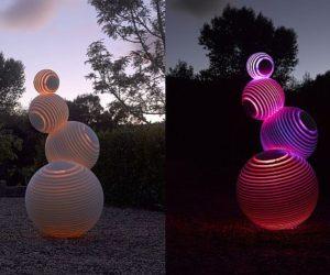 Fletcher Vaughan's Stratospheric sculpture