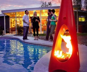 Volcano ModFire Outdoor Fireplace Design