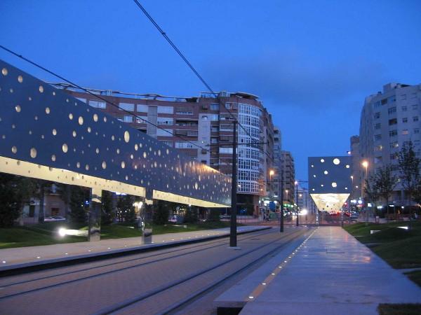 Fun And Modern Train Station In Alicante Spain