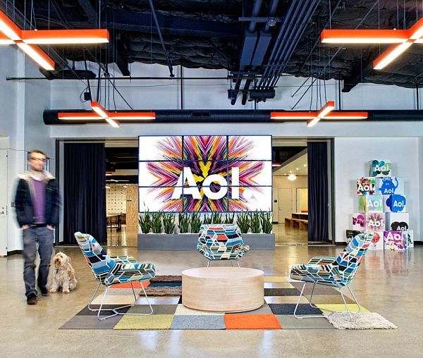 Gentil AOL Offices Interior Design Pictures