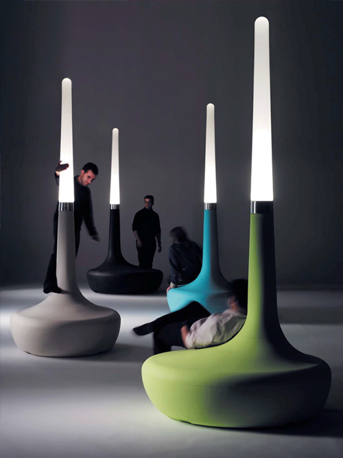 Bdlove lamp by ross lovegrove for It design