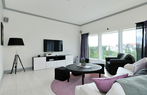 elegance with more black and white and grey and lavender rh homedit com