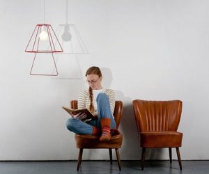 The Book Lamp Design from Groupa Studio