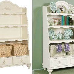 Lovely Bookcase For Little Girls