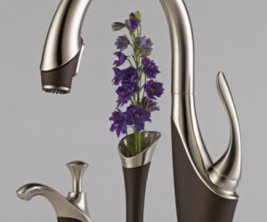 Graceful kitchen faucet from Brizo
