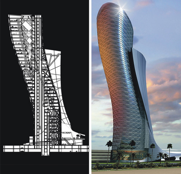The leaning tower of abu dhabi for Hispano international decor abu dhabi