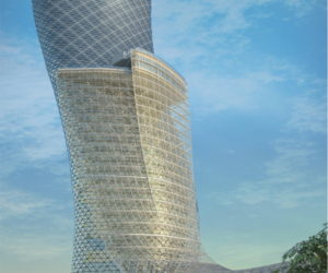 The Leaning Tower of Abu-Dhabi
