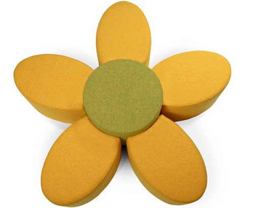 Flower Fiore Ottoman By Anconas