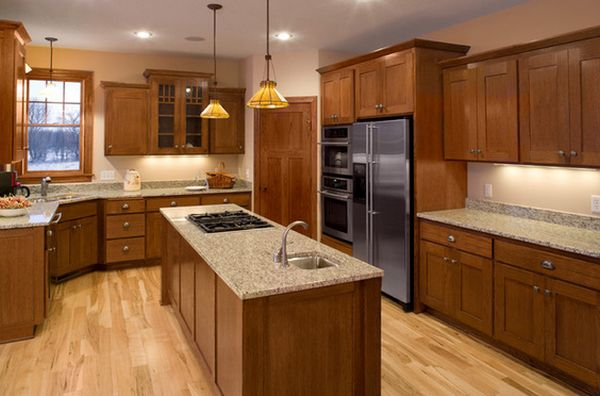 How To Design A Kitchen With Oak Cabinetry