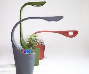 Multifunctional Dino Desk Lamp by Deger Cengiz