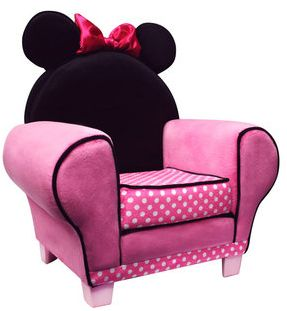 Charmant Minnie Mouse Chair For Kids Room