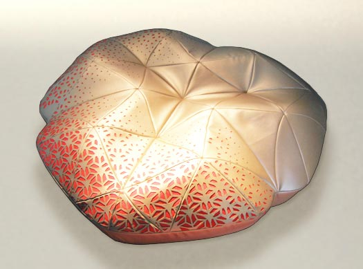 Attractive Filigrana Pouf By Elena Manferdini