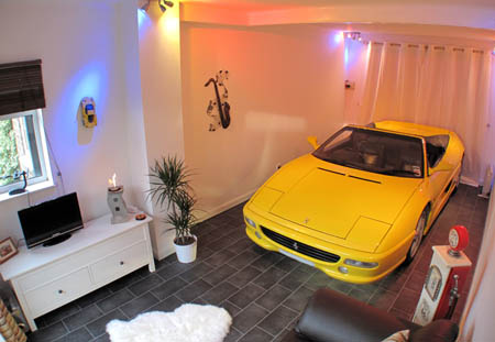 How to Park a Ferrari in Your Living room