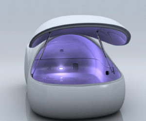 The ultimate creation in relaxation – i-Sopod floatation tank