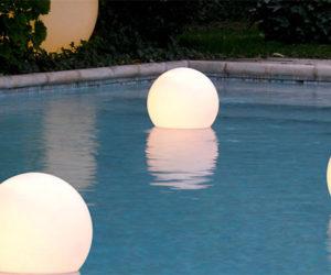 Beautiful Aqua Globe by Slide