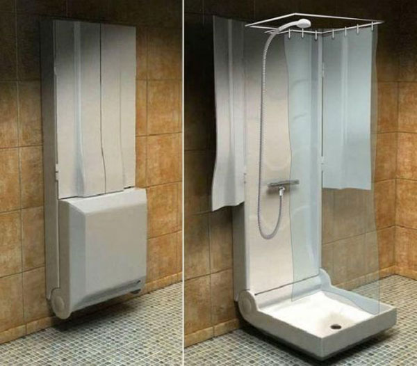 Foldable Shower