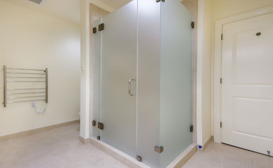 Frosted Shower Doors different types of shower doors and their characteristics