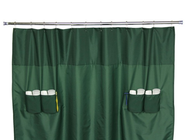 Shower Curtains With Built In Storage