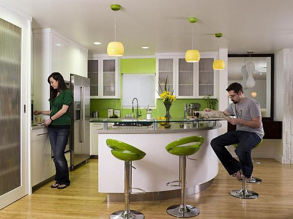 green bar and kitchen green kitchens inspiration ideas 3969