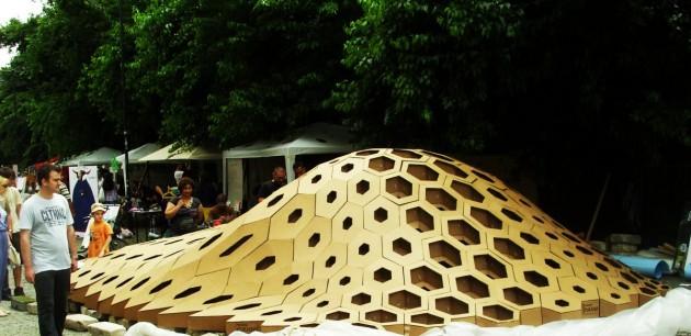 Awesome Hexigloo U2013 Pavilion In Bucharest Amazing Ideas