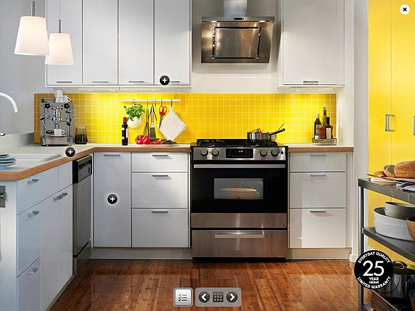 Yellow kitchen inspiration ideas for Kitchen inspiration ideas
